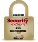 Nomineringslogga Security Awards
