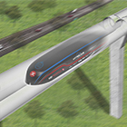 MTR Express pod i en Hyperloop